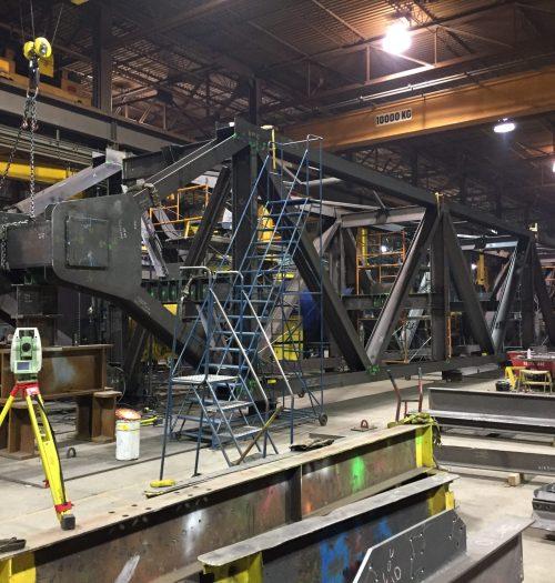 04 - Pont Champlain treillis renforcement